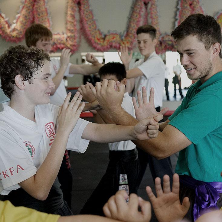 Class 2 Kids Kung Fu Image